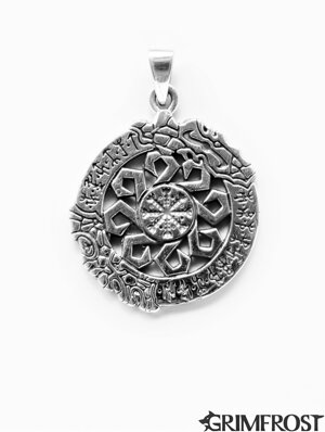 Aegishjálmur Sieraden, Zilver