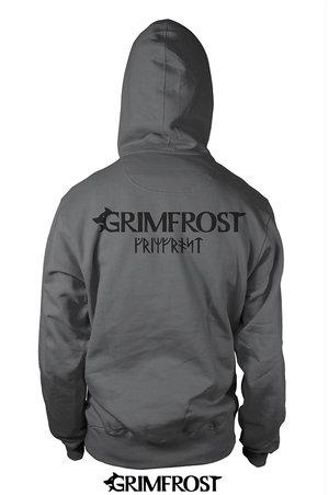 Zip Hoodie, Grimfrost, Steel Grey