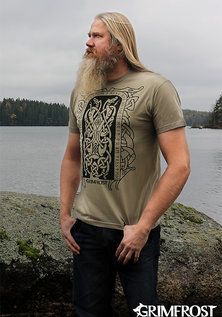T-shirt, Runestone, Army Khaki