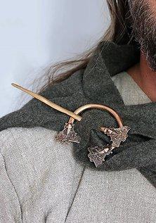 Bronze Fibula, Birka