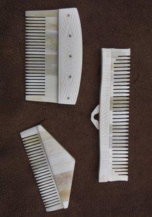 Viking Bone Comb Set