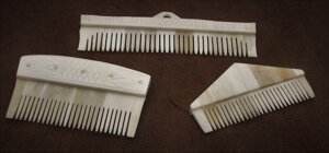 Viking Bone Comb Set