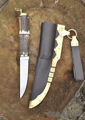 Viking Faca, Decorações de Latão