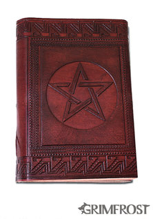 Leather Book, Pentagram