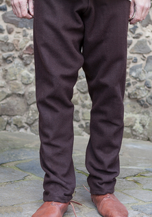 Viking Wool Trousers, Brown