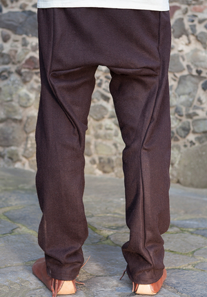 Viking Pantalon en Laine, Marron