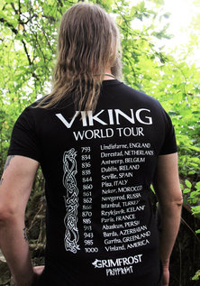 T-shirt, World Tour, Black
