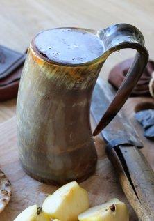 Horn Mug, Rustic