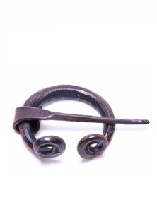 Iron Fiblula, Hand-forged 2 cm