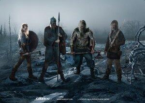 Poster Art: Viking Warband