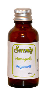 Serenity  Massageolja Bergamott - 30ml