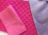 Tygpaket till  All Aboard S/M, rosa