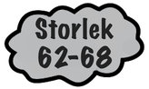 Storlek 62-68