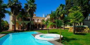 Villa i The Golden Mile Marbella 14 sovrum