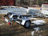 Båt trailer 450kg obromsad 80km