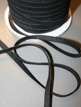 Resår - svart 6 mm (kantresår)