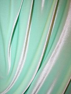 SAMMET - mintgrön