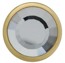 1780/100 TRYCKKNAPP Guld/Crystal