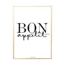 """Poster """"Bon Appétit"""""""