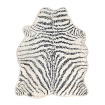 Badrumsmatta zebra