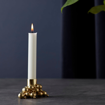 Ljusstake Molekyl guld - Gejst