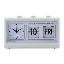 Klocka retro (ljusgrå)