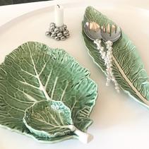 Salladsbestick gren (silver) från Afrika