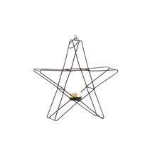 Stående / hängande stjärna (svart)