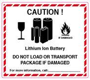 Caution! Lithium Ion Batteries