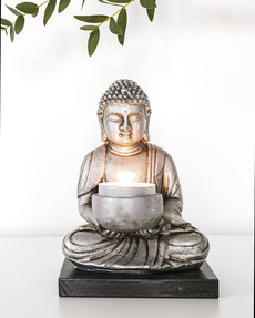 Sittande Buddha