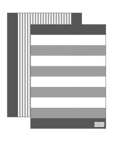 Kökshandduk Cotton Hill grå 2-pack