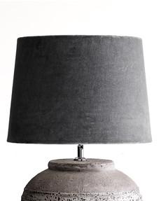 Lampskärm Vivienne STOR Mörk Grå