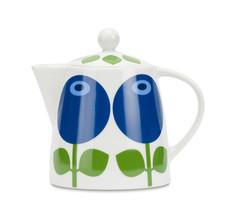 Tekanna Blåbär 1,1 L (kaffekanna/kanna blåbär)