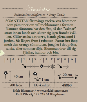 SÖMNTUTA - IVORY CASTLE