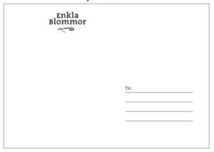 KORT - BLOMMOR