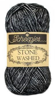 Stone Washed - fg 803 Black onyx
