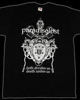 "Paradise Lost - ""Faith Crest"" T-shirt"