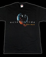 "October Tide - ""A Thin Shell"" T-shirt"