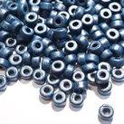 Keramikpärlor 6x4mm - Midnattsblå