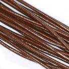 Äkta läder, Brun 2,5mm