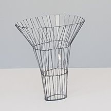 "Annika Jarring ""A unique sculpture in transparent glass and silicone"""