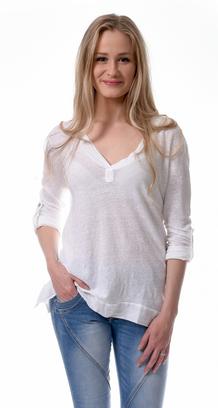 T-shirt MYT långärmad - Vit