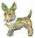 Spargris Hund - Grön