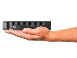 HP ProDesk (GR386) mini stationära datorer med Intel i5 processorer, 128GB SSD och Win 7 Pro & Win 10 Pro