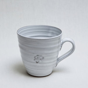 Kaffemugg, vit