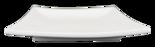 Fyrkantig - Tjock - Assiett