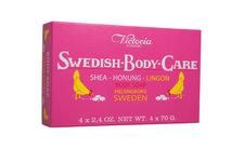Swedish Body Care - Lingon 4-pack (4x70g)