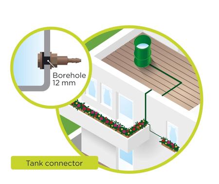 Blumat-Bevattningssystem för 12st plantor