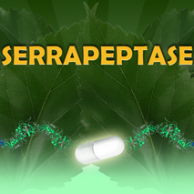 Serrapeptase - 100st vegicaps á 80000 IE