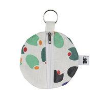 Keyring Headphone Case The olive